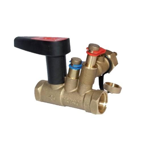 """Клапан балансировочный BROEN BALLOREX Venturi FODRV - 1/2"""" (ВР/ВР, PN25, Tmax135°C, Kvs 0,63 м3/ч)"""