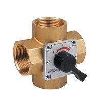 """Клапан смесительный четырехходовый Cimberio CIM 684 - 1"""" (ВР, PN16, Tmax 95°C)"""