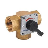 """Клапан смесительный трехходовый Cimberio CIM 683 - 1""""1/4 (ВР, PN16, Tmax 95°C)"""