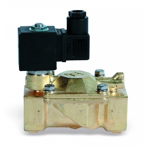 """Клапан соленоидный WATTS 850T - 1"""" (PN25, Tmax 90°C, 230В, нормально открытый)"""