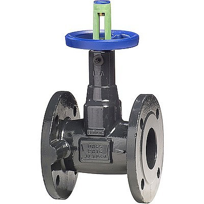 Клапан запорный KSB BOA-Compact EKB - Ду100 (ф/ф, PN16, 120°С, чугун с электростатическим покрытием)