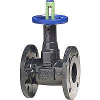 Клапан запорный KSB BOA-Compact EKB - Ду125 (ф/ф, PN16, 120°С, чугун с электростатическим покрытием)