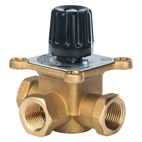 """Клапан смесительный трехходовой STOUT - 1"""" (ВР, PN10, Tmax 110°C, KVS 8)"""