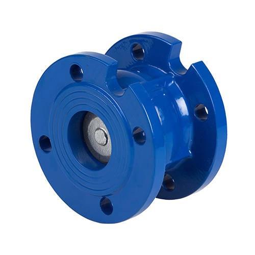 Клапан обратный фланцевый GENEBRE 2450 - Ду125 (ф/ф, PN16, Tmax 100°C)