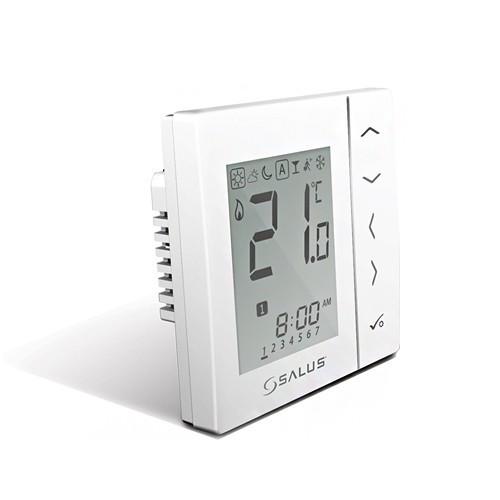 Термостат комнатный SALUS Controls EXPERT NSB - VS30W (встраиваемый, регулировка 5-35°C, 230В)