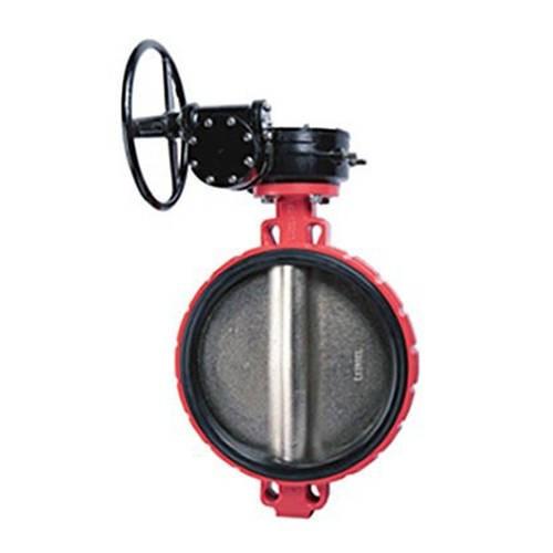 Затвор дисковый поворотный RUSHWORK 200 - Ду350 (PN16, Tmax 110°С, с редуктором)
