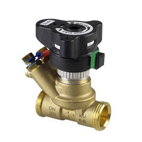 """Клапан балансировочный Danfoss MVT - 1"""" (НР/НР, PN20, Tmax 120°С, 2 изм.ниппеля, kvs 6,0  м3/ч )"""