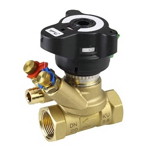 """Клапан балансировочный Danfoss MVT - 1/2"""" (ВР/ВР, PN20, Tmax 120°С, 2 изм.ниппеля, kvs 3.0 м3/ч )"""