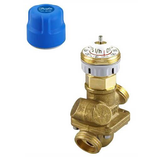 "Клапан балансировочно-регулирующий Danfoss - AQT 1"" (НР/НР, PN16, Tmax 120°С, без ниппелей)"