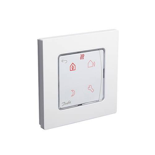 Термостат комнатный Danfoss Icon Programmable (сенсорный, накладной)