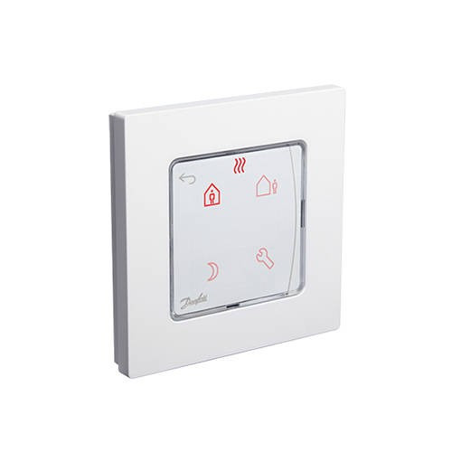 Термостат комнатный Danfoss Icon Programmable (сенсорный, встраиваемый)
