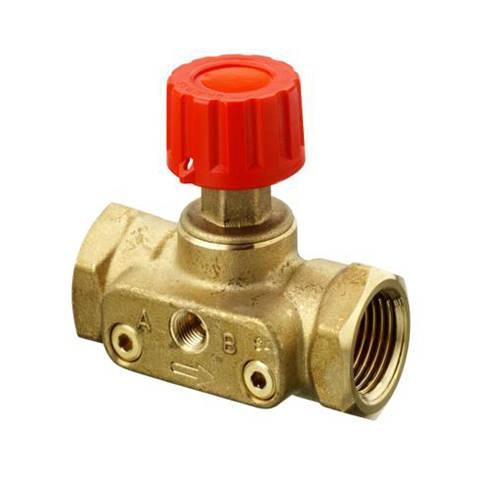 """Клапан балансировочный Danfoss CDT - 1""""1/4 (ВР/ВР, PN16, Tmax 120°С, 2 изм.ниппеля)"""