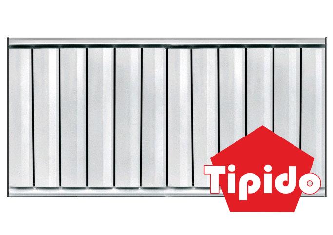 Алюминиевый радиатор отопления Tipido-500 - фото 1