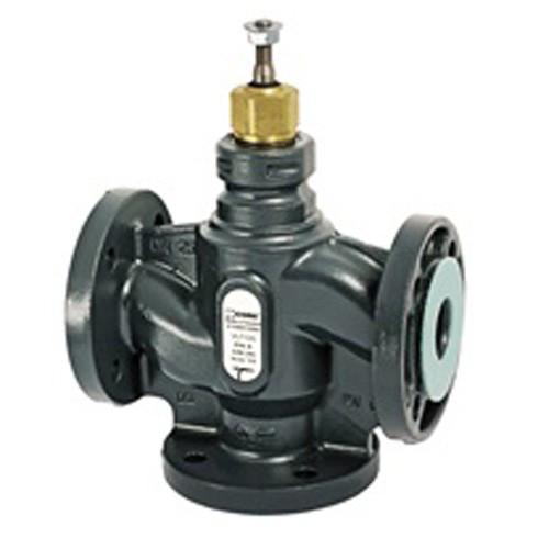 Клапан регулирующий трёхходовой ESBE VLF135 - DN32 (F/F/F, PN 6, Kvs 16, Tmax. 120°C, чугун)