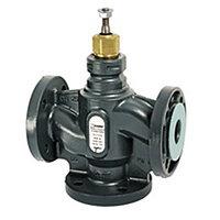Клапан регулирующий трёхходовой ESBE VLF135 - DN40 (F/F/F, PN 6, Kvs 25, Tmax. 120°C, чугун)