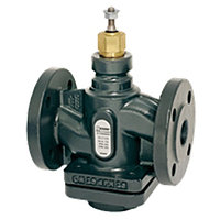 Клапан регулирующий двухходовой ESBE VLC225 - DN25 (F/F, PN 25, Kvs 10, Tmax. 150°C, чугун, со штекером компенсации давления)