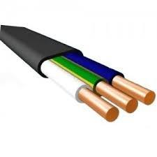 Кабель ВВГ-Пнг(А)-LS 3х6(N, PE) – 0,66 (плоский)