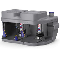 Установка канализационная Pedrollo SAR 550-RXm 5 - 1,1 кВт (Qmax 300л/мин, Hmax 19,5м, кабель 10м)
