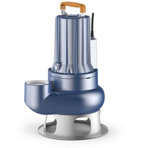 Насос фекальный Pedrollo VXC 30/50 - 2,2 кВт (3x400 В, Qmax 850 л/мин, Hmax 15 м, кабель 10 м)
