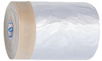 Укрывная пленка с малярной лентой 55 см * 33м