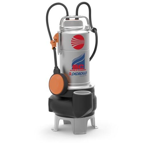 Насос фекальный Pedrollo BC 15/50-N - 1,1 кВт (3x400 В, Qmax 750 л/мин, Hmax 15 м, кабель 10 м)