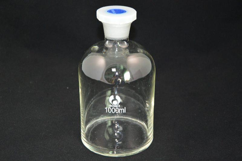 Бутыль для химреактивов с пластмассовой пробкой (1000 мл)