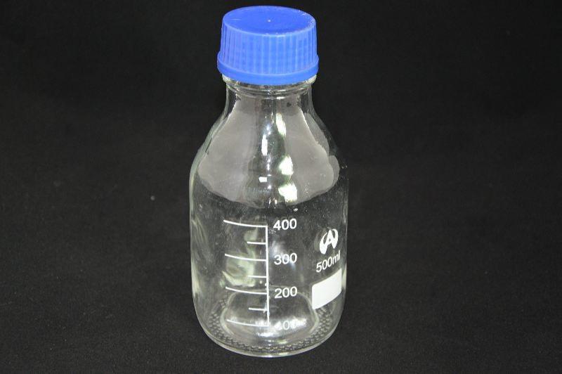 Бутыль для химреактивов с пластмассовой завинчивающейся крышкой (500 мл)