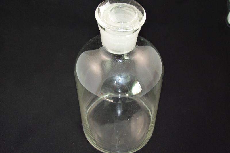 Бутыль для химреактивов со стеклянной пробкой (5 л)