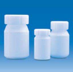 Бутыль фторопластовая, V-10 мл, непрозрачная, винт.крышка (PTFE) (VITLAB)