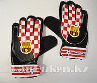 Перчатки вратарские футбольные F.C.B детские, фото 1