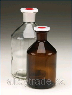 Бутыль для химреактивов с п/э пробкой (100 мл), шлиф 14/23 (MBL)