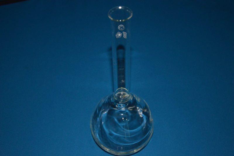 Колба с градуированной горловиной для контроля полноты налива бутылок (1000 мл)