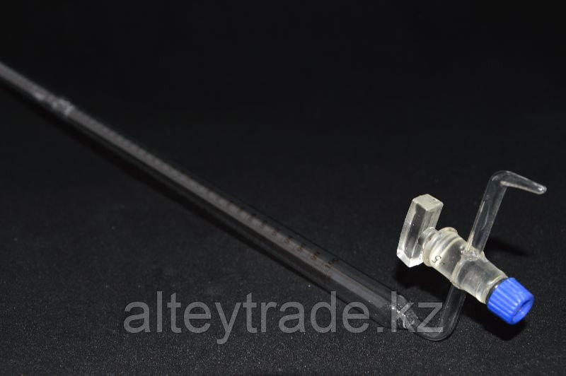 Бюретка с боковым краном 1-2-2-100 мл, цена дел.0,2, (ГОСТ 29251-91)