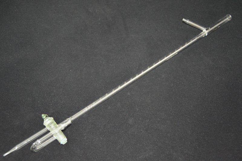 Бюретка с двухходовым краном и автом. нулем 1-5-2-100 мл, цена дел.0,2, (ГОСТ 29251-91)