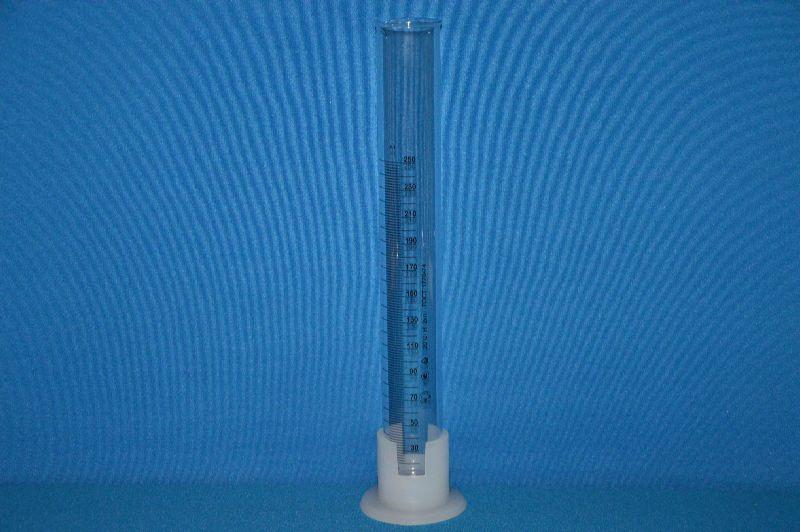 Цилиндр 3 мерный с носиком и пластмассовым основанием 3-250-2, до 28.04.17