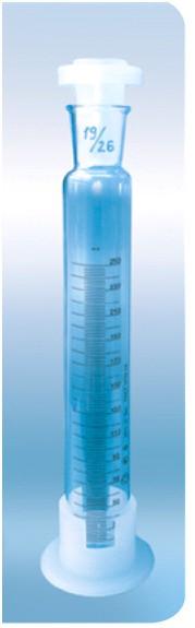 Цилиндр 4а мерный с пластмассовой пробкой и основанием 4а-250-2, до 28.04.17