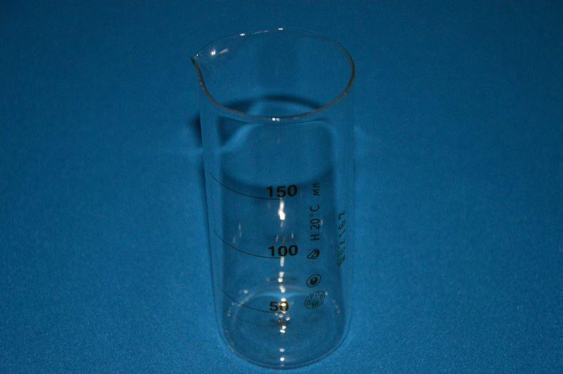 Стакан мерный для отпуска напитков 150 мл, цена деления 50 мл