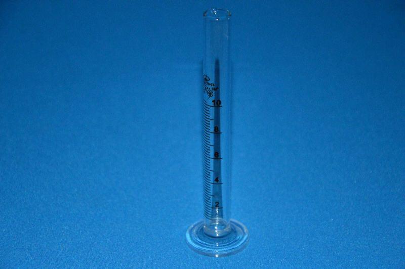 Цилиндр 1 мерный с носиком и стекл. осн.1-10-2