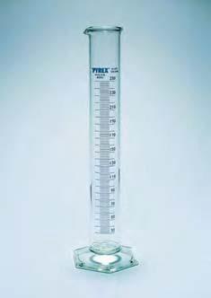 Цилиндр 1 мерный с носиком и стекл. осн.1000 мл, толстостенный, класс В (Pyrex)