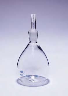 Пикнометр для жидкостей 50, +/-3 мл (MBL)