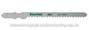 Полотно для электролобзика 2 шт, глубина 60 мм, длина 75 мм, шаг 4 мм, KRAFTOOL