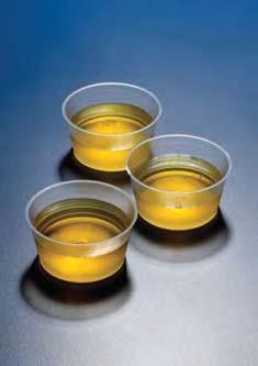 Стаканчик для отбора проб полипропиленовый 60 мл, низкий, с рельефной шкалой, стерильный (уп.400 шт) (PP) (Azlon)