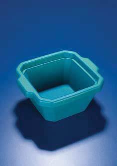 Ведерко для льда пластиковое V-1 л, мини, зеленое (Azlon)
