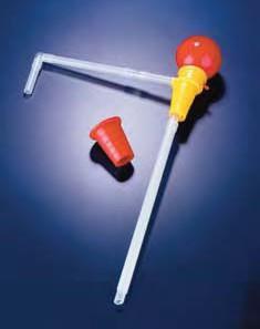 Насос для перекачивания с телескопической трубкой 10х45 мм, скорость потока 4 л/мин, полипропиленовый (PP) (Azlon)