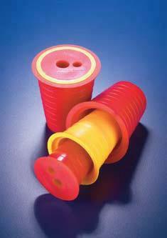 Пробка коническая из ПВХ многофункциональная с отверстием d-15 мм для насоса PWJ018 (Azlon)