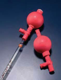 Устройство для заполнения пипеток с 3 клапанами для пипеток до 100 мл, резиновое (Azlon)
