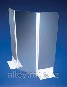 Клемма с ручным винтом для прикручивания ножек защитных экранов к столу (Azlon)
