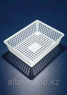 Корзина прямоугольная, 400х300х100 мм, полипропиленовая (Azlon)
