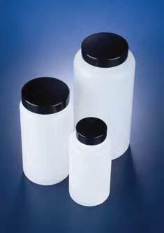 Бутыль широкогорлая полиэтиленовая, V-250 мл, с винт.крышкой (PE-HD) (Azlon)