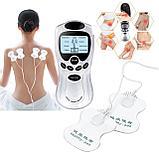 Электронный импульсный массажер миостимулятор Digital Therapy Machine st-688 (2 насадки), фото 5